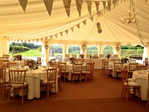Highdown Vineyard - Marquee
